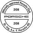 Officially approved Porsche Club 208